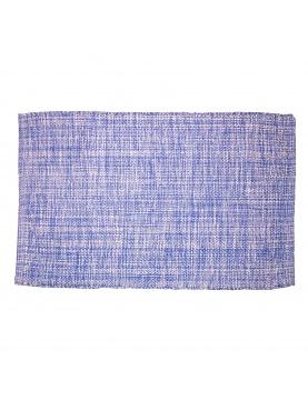 Tapis en coton coloré