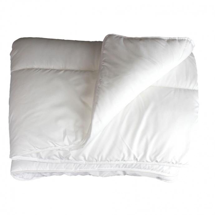 Couette confort en polyester uni  (Blanc)