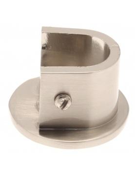 Wandhalterpaar für Gardinenstangen ø 16 mm (Chrom)