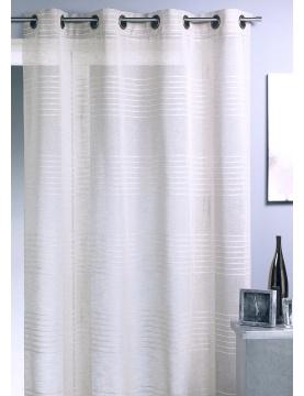 Vorhang mit Streifen