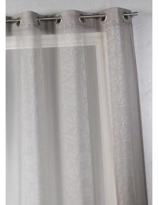 Voilage en étamine à rayures verticales graphiques