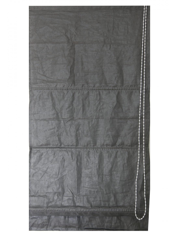 store bateau uni aspect lin anthracite ecru lin gris homemaison vente en ligne. Black Bedroom Furniture Sets. Home Design Ideas