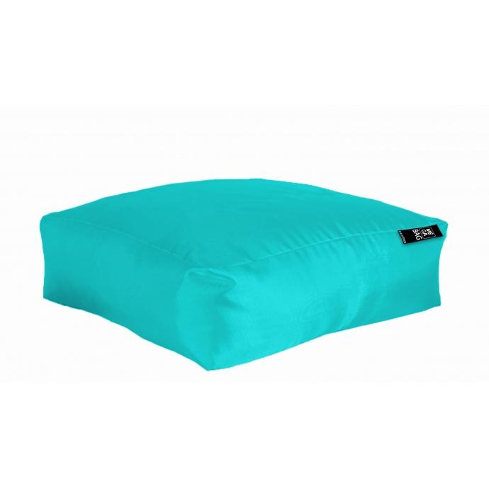 Coussin de sol XXL Outdoor en microbille (Turquoise)