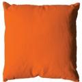 Coussin uni en polyester (Orange)