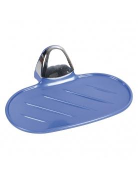 Porte savon bleu