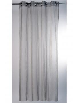 Visillo natural a rayas verticales