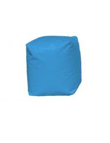 Puff Cuadrado Azul