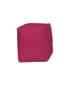 Pouf Cube Fuchsia