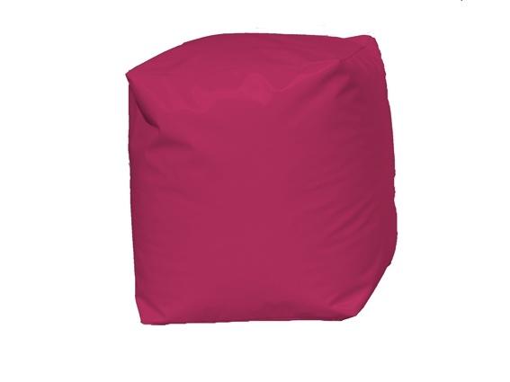 Pouf Cube Fuchsia (Fuchsia)