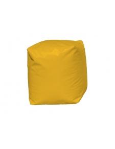 Puff Cuadrado Amarillo