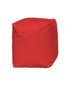 Pouf Cube Rouge