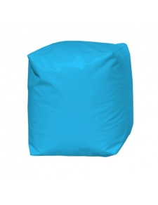Pouf Cube Turquoise