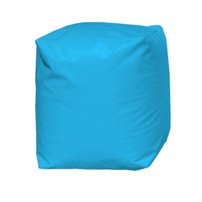 Pouf Cube Turquoise (Turquoise)
