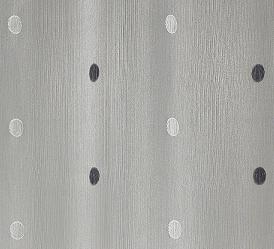raffrollo mit punkten grau mokka homemaison vente en ligne fenstergardinen. Black Bedroom Furniture Sets. Home Design Ideas