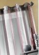 Voilage Organza rayure verticale Bordeaux