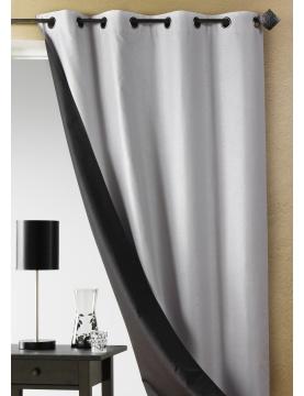 Doppelfarbiger Vorhang