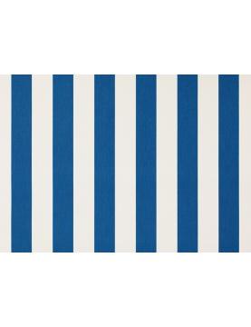 Toile de store banne Dickson rayures col blanc/bleu