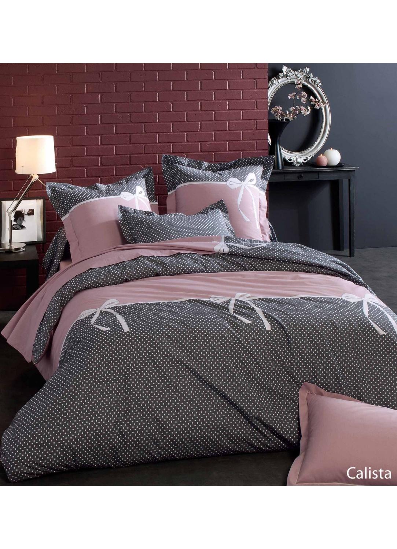 housse de traversin calista pois noir blanc homemaison vente en ligne housses de. Black Bedroom Furniture Sets. Home Design Ideas