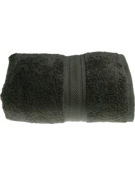 Drap de bain 100 x 150 cm en Coton couleur Anthracite