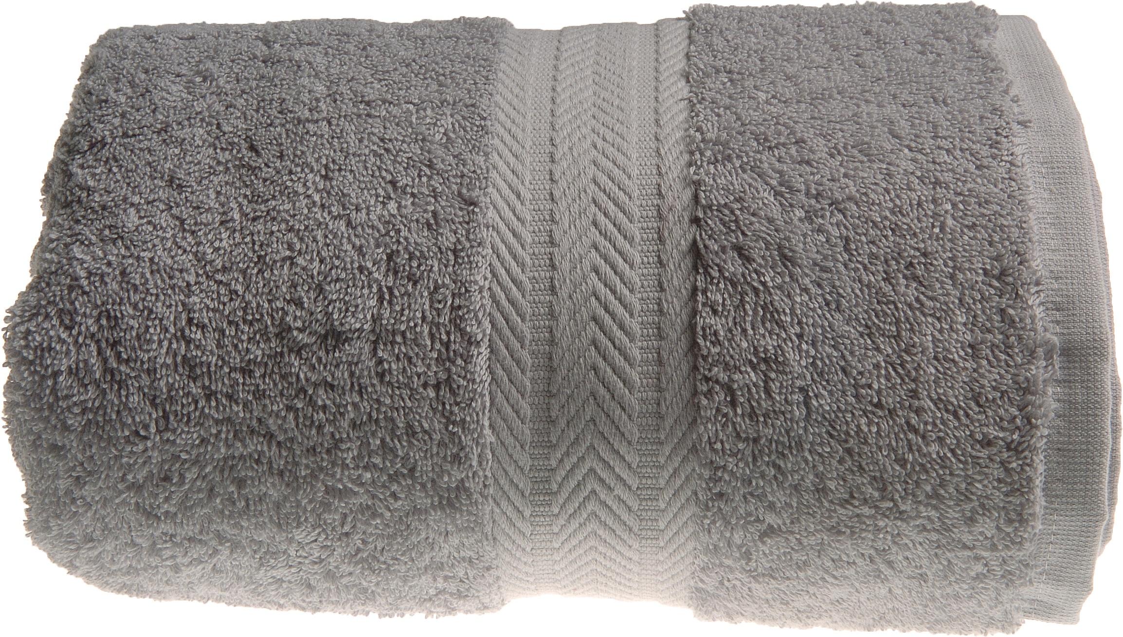 Drap de bain 100 x 150 cm en Coton couleur Gris perle (Gris Perle)