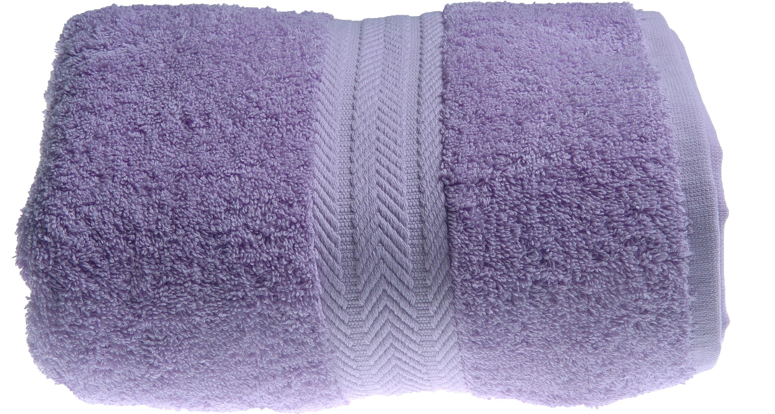 Drap de bain 100 x 150 cm en Coton couleur Parme (Parme)
