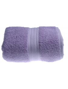 Drap de bain 100 x 150 cm en Coton couleur Parme