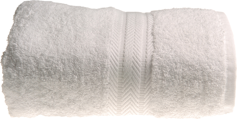 Drap de douche 70 x 140 cm en Coton couleur Blanc (Blanc)