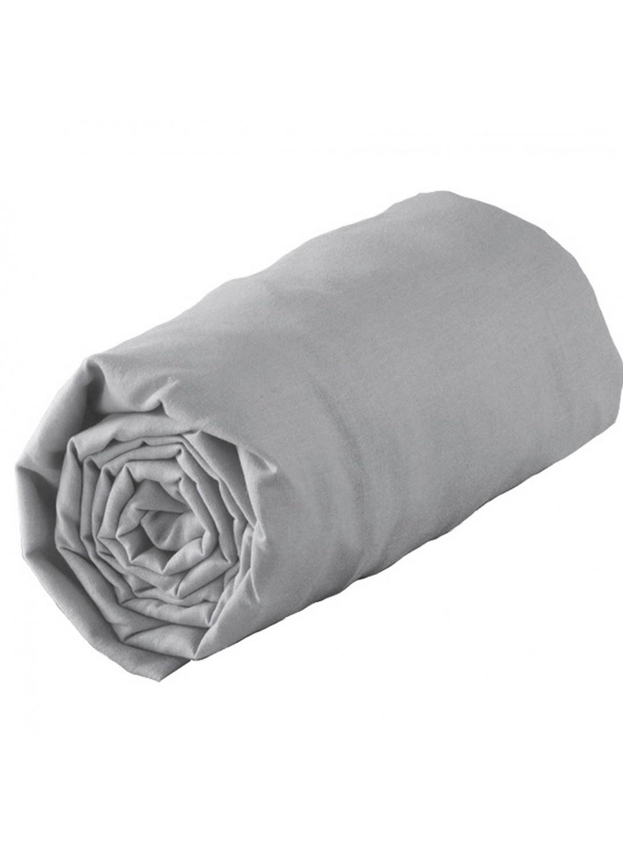 drap housse jersey uni 1 personne en 90 x 190 cm jersy gris drag e cara be lilas. Black Bedroom Furniture Sets. Home Design Ideas
