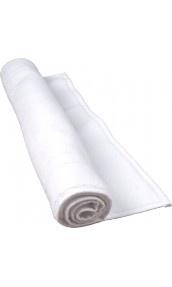 Tapis de bain 50 x 80 cm en Coton couleur Blanc