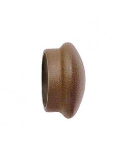 Par de Topes Cortina en Hierro Forjado para barra Ø 28 mm
