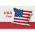 Big Coussin USA Flag (blanc /  rouge)