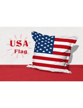 Big Coussin USA Flag