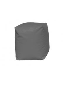 Pouf Cube Gris