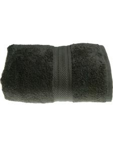 Tolla de lavabo 50x100cm de algodón color Antracita