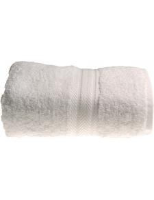 Serviette de toilette 50 x 100 cm en Coton couleur Blanc
