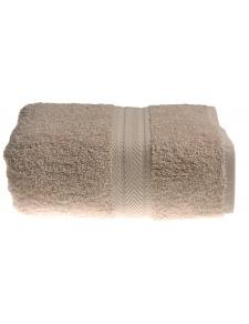 Serviette de toilette 50 x 100 cm en Coton couleur Ficelle