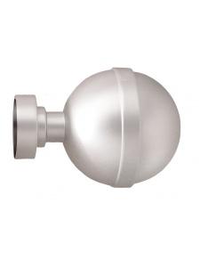Par de topes 'esfera' para barra de cortina de Ø 28 mm