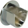 2 Supports de tringle naissance diam 28mm (Chromé)