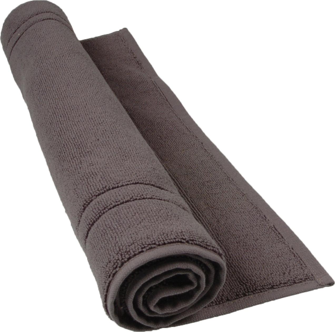 tapis de bain 50 x 80 cm en coton couleur anthracite anthracite homemaison vente en ligne. Black Bedroom Furniture Sets. Home Design Ideas