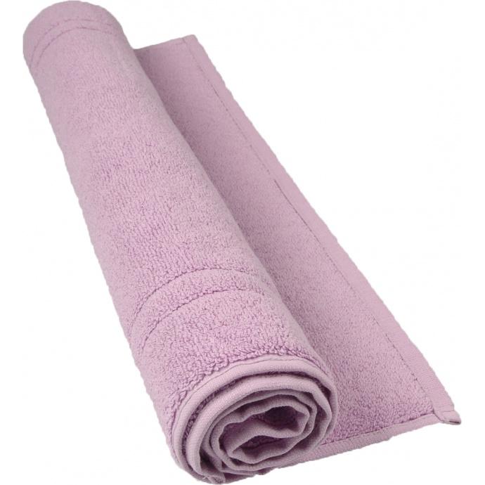 Tapis de bain 50 x 80 cm en Coton couleur Parme (Parme)