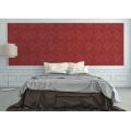 Papier Peint Esprit Baroque (Rouge)