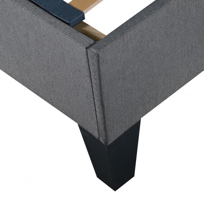 Sommier en kit avec une ép 20 cm  (Gris)