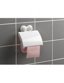 Dérouleur de Papier Toilette en Plastique et à Ventouses