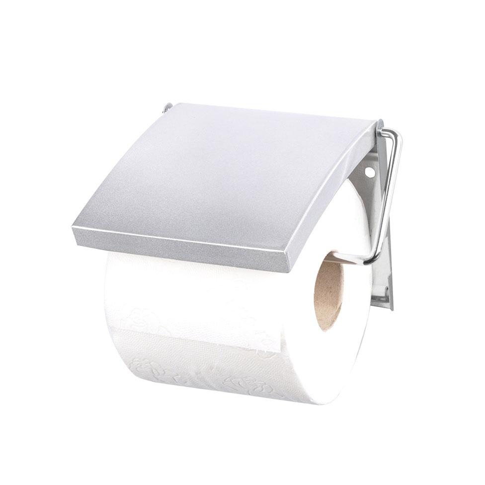 Dérouleur de Papier MDF et Métal à Fixer (Argent)