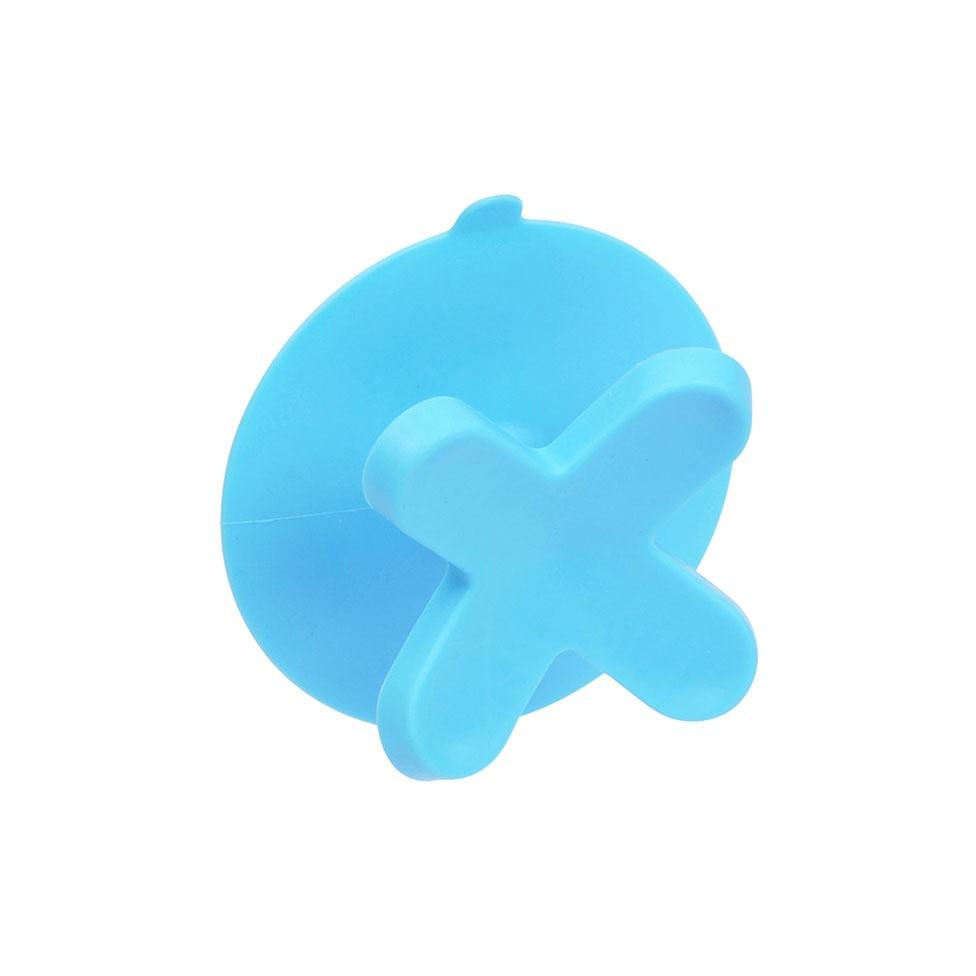 Crochet Ventouse en Plastique (Bleu océan)