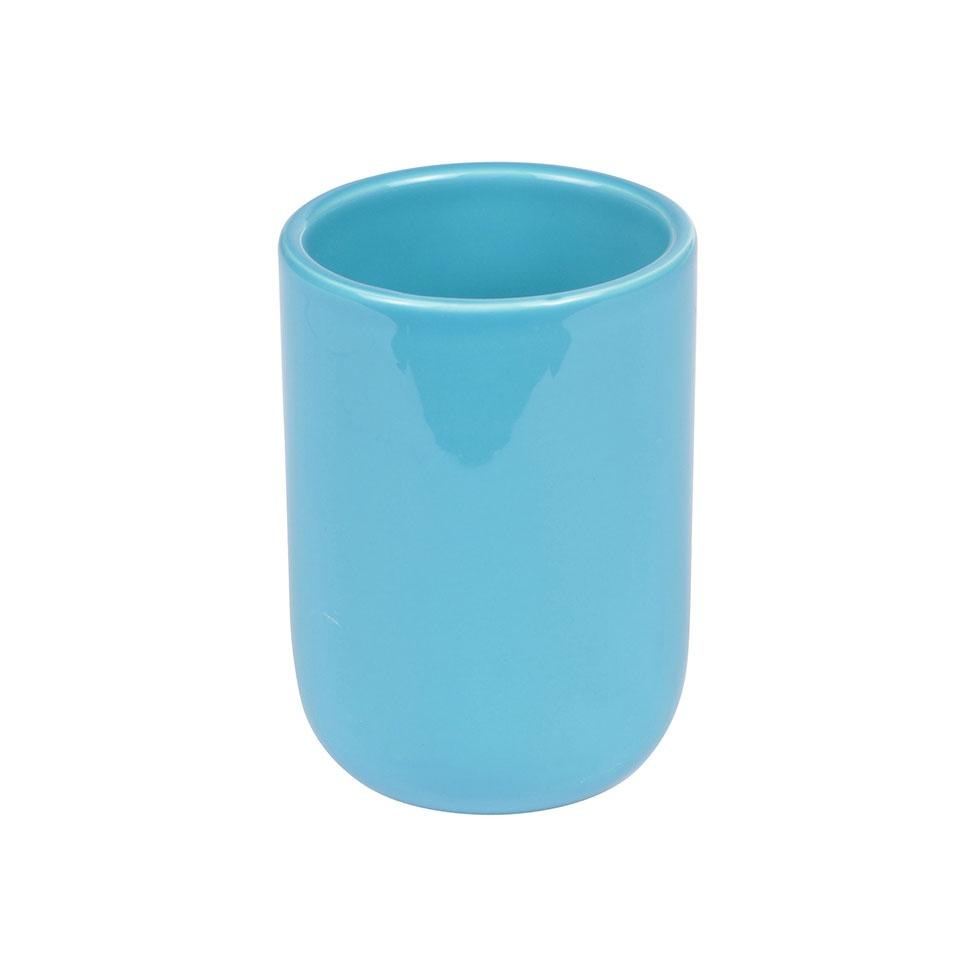 Gobelet en Céramique Colorée  (Bleu océan)