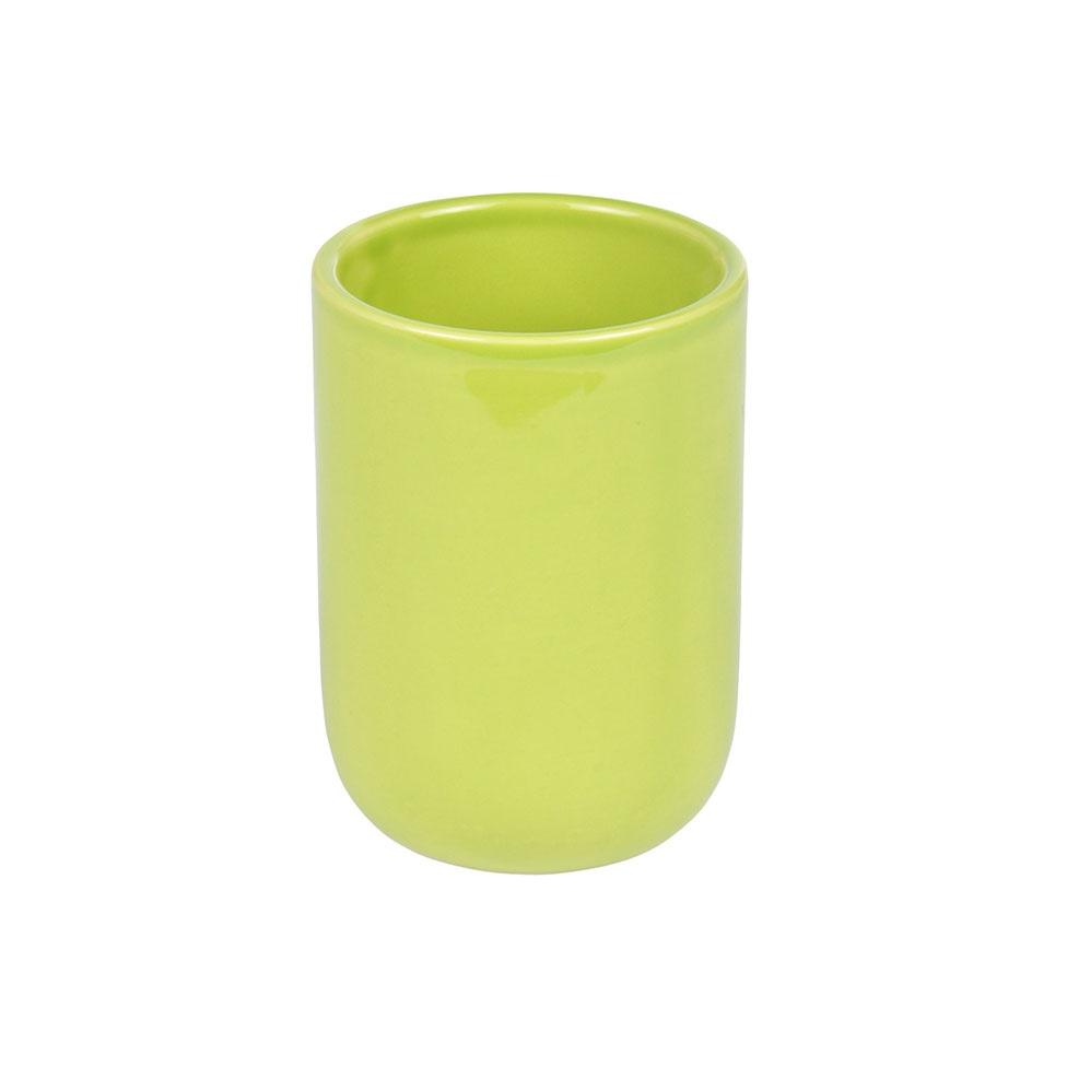 Gobelet en Céramique Colorée  (Vert Anis)