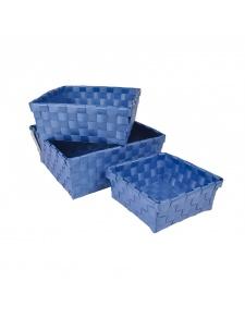 Paniers Tressés par 3 en Plastique