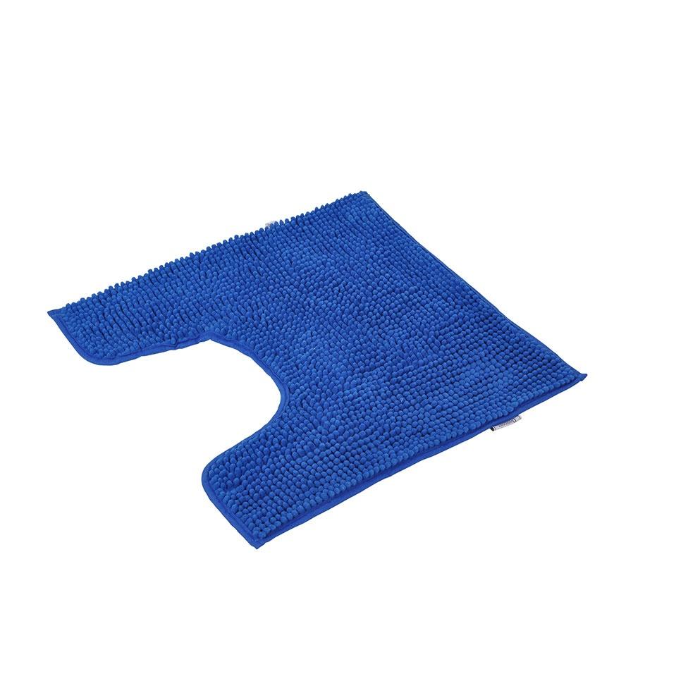 Contour Wc Tout Doux En Microfibre Bleu Roi Rose Poudre