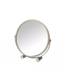 Miroir à Poser Grossissant X1/X3 en Métal Coloré